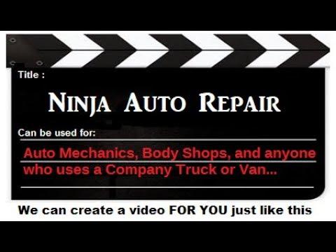 Ninja Auto Repair Video