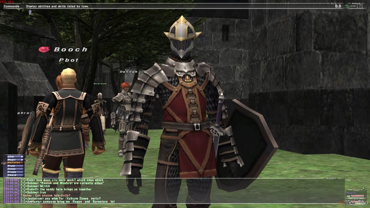 Make FFXI work with modern graphics cards + custom shaders