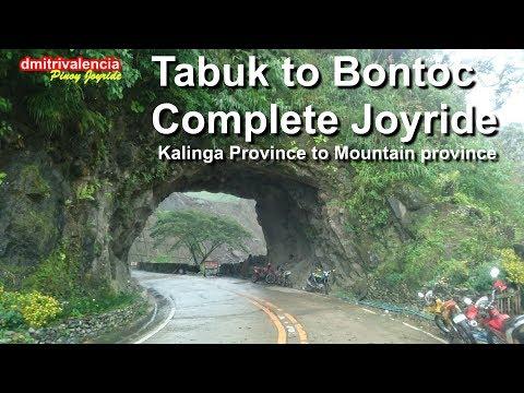 Pinoy Joyride - Tabuk to Bontoc Road Complete Joyride