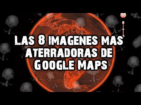 Las 8 imágenes más aterradoras de Google Maps y Google Earth