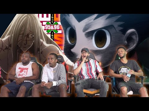 Gon&39;s Rage Builds Hunter x Hunter 95 & 96 REACTIONREVIEW
