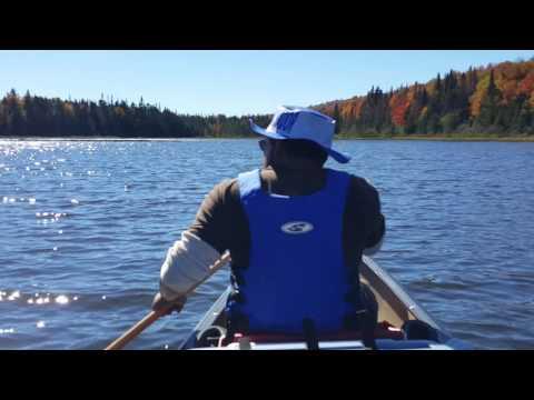 Fall paddling, Cedar River Flow, Moose River Recreation Area