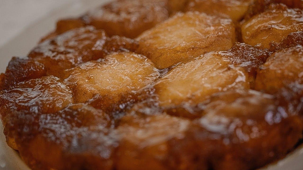 Восхитительный ПИРОГ с яблоками 🍎 — французский ТАРТ ТАТЕН 😃 ГОТОВИМ ВМЕСТЕ с Лизой Глинской 😊