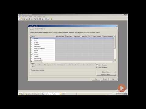 How to find deadlocks with SQL server profiler