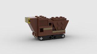 911725 Sandcrawler | Speed Build