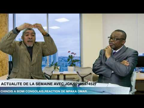 CHINOIS A BOMI CONGOLAIS,REACTION DE MPAKA OMAR.