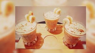 Papaya and banana Smoothie || healthy homemade recipe!