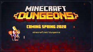 Minecraft Dungeons - Announcement Trailer