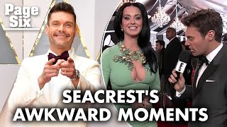 Ryan Seacrest is Out But Kamaro Brown is in on the Red Carpet   Page Six Celebrity News