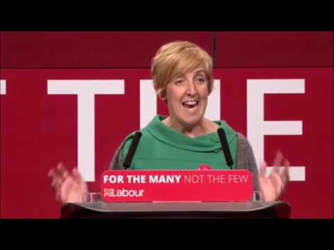 "Julie Hesmondhalgh: Labour's a party of ""people who give a toss about stuff"""