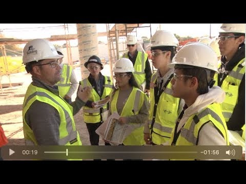 Chapin engineering students tour Bond 2016 project