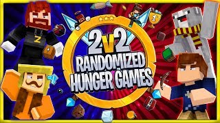 2v2 Randomized Hunger Games! #1 | YourPalRoss / TimDotTV / Oogapooki