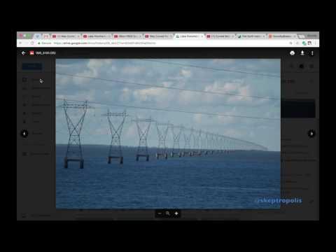 Flat Earth Objections Answered - Lake Pontchartrain - Transmission Pylons - (Debunk Flat Earth)