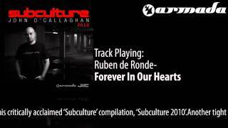 Ruben de Ronde - Forever In Our Hearts (Tom Colontonio Remix) [Subculture 2010 Album Previews]
