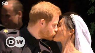 Meghan Markle ile Prens Harry evlendi - DW Türkçe