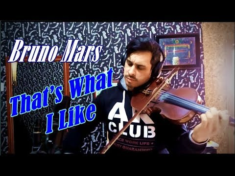 Bruno Mars - That's What I Like by Douglas Mendes Violin Cover