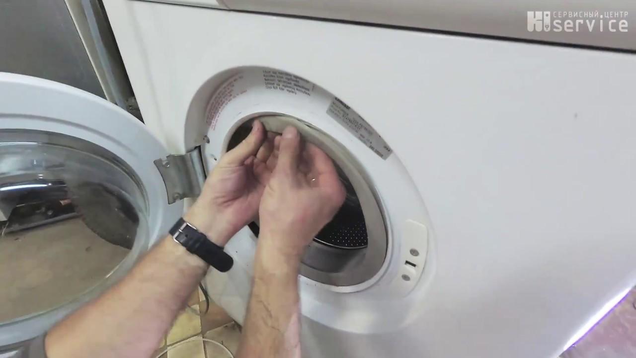 сборка барабана стиральной машины занусси