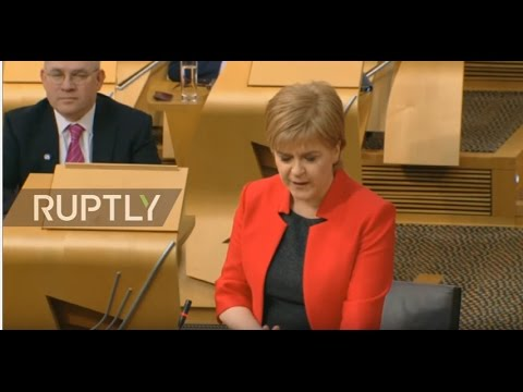 LIVE: Scottish Parliament second referendum debate: Day 1