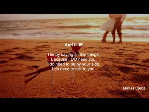 ♥ NEVER GIVE UP ON LOVE  ♥ |  Sad Love Poem that will make you cry  - Matías Ojeda | WithYou ♥