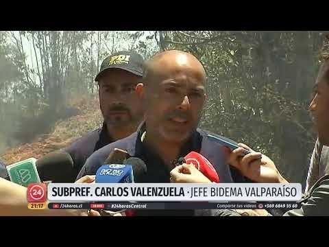 El Video Que Evidenciaría Intencionalidad En El Incendio Que Afectó A Valparaíso