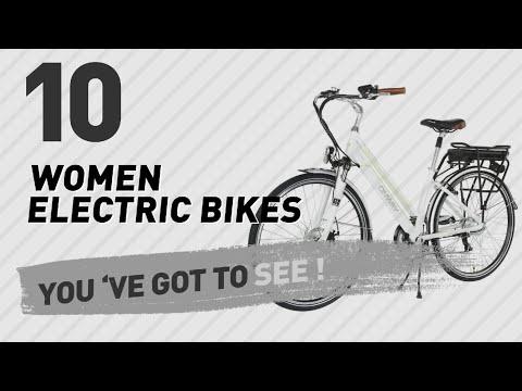 8567555398d Women Electric Bikes // New & Popular 2017 - YouTube