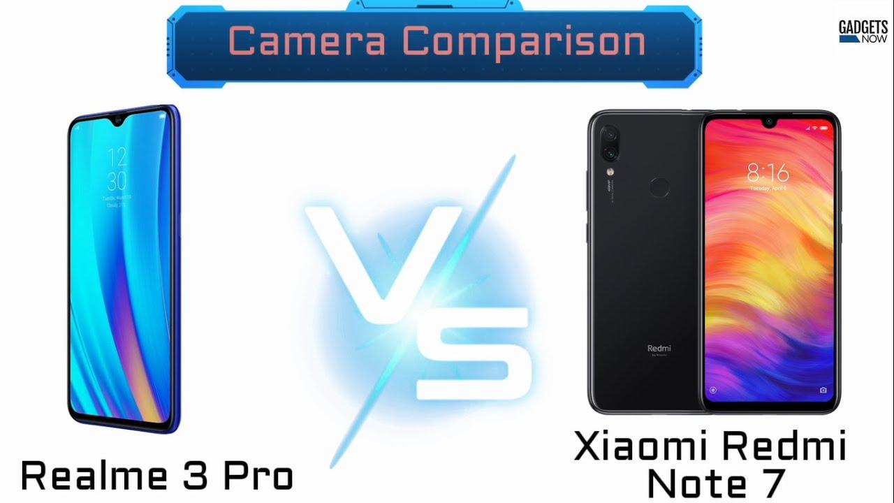 Smartphone camera comparison: Xiaomi Redmi Note 7 Pro vs Realme 3