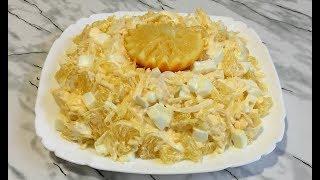 Восхитительный Салат Афродита Свежий Вкусный и Красивый Салат на Новый Год Aphrodite Salad