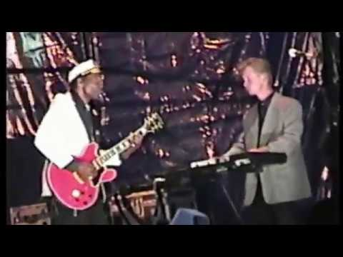 Chuck Berry in Moscow (29.07.1997)