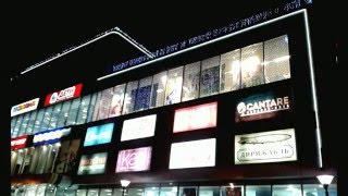 Архитектурная подсветка торгового центра \ электромонтаж \ Промышленные альпинисты.(Архитектурная подсветка торгового центра. Электромонтаж, Промышленные альпинисты. Смотреть ещё: http://www.gm-ligh..., 2016-02-17T09:22:05.000Z)