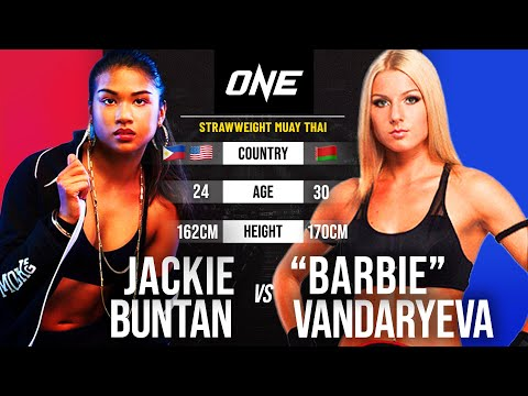 "Jackie Buntan vs. ""Barbie"" | Full Fight Replay"
