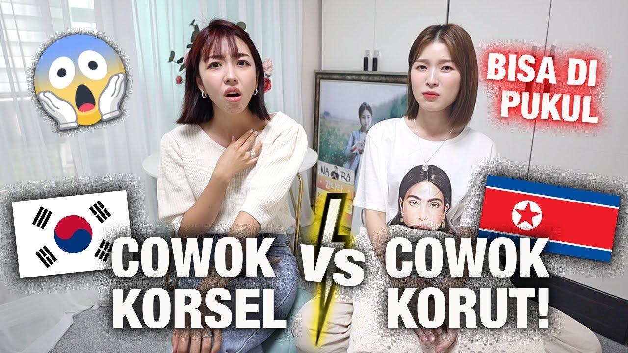 COWOK KOREA SELATAN  vs. COWOK KOREA UTARA BEDANYA?   KOK JADI TAKUT ??