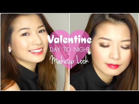 TUTORIAL ♡ Trang Điểm Valentine Từ Sáng Đến Tối ♡ Pretty.Much