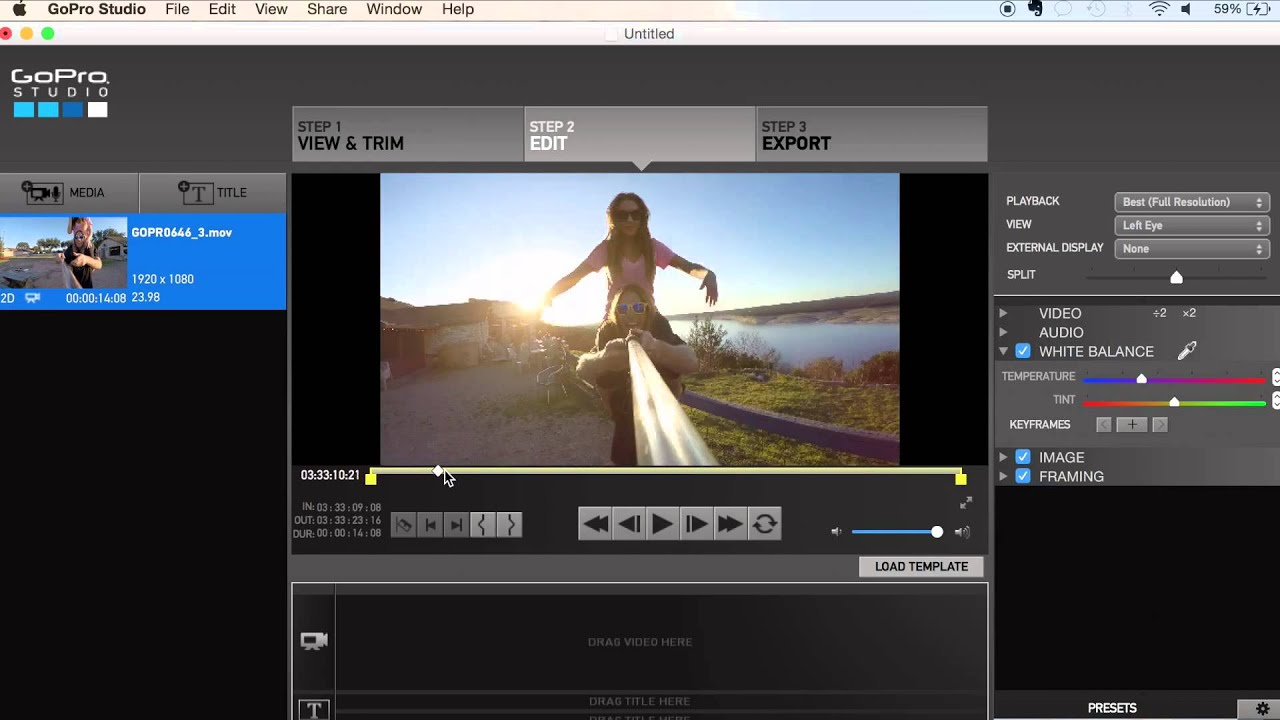 Easily offload and enjoy your GoPro photos and videos