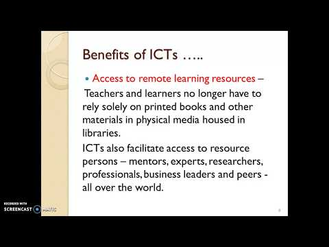 ICT  Meaning, Need,challenges And Tools