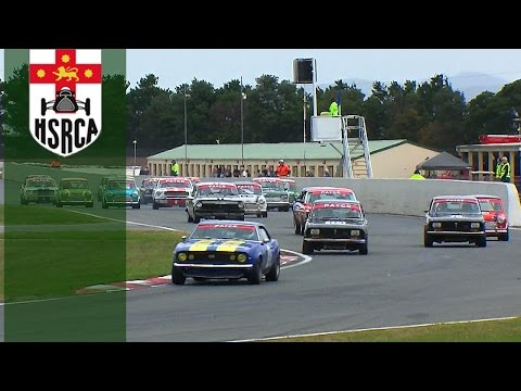 Historic Touring Car Racing Wakefield Park Race 3 HSRCA 2017