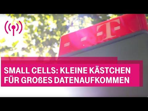 Social Media Post: SmallCells: Kleine Kästchen für großes Datenaufkommen