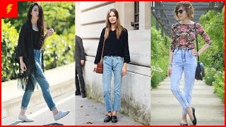 How to Wear Moms Jeans With Style