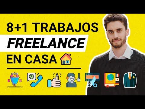 8 + 1 Trabajos Freelance que puedes hacer desde Casa este 2020