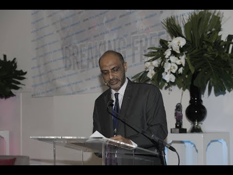 Ismail Jussa Ladhu Delivers the 2017 Freedom Speech at the Freedom Speech and Award Ceremony