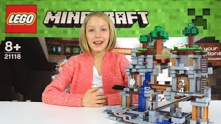 Lego Minecraft: The Mine | Time Lapse Building