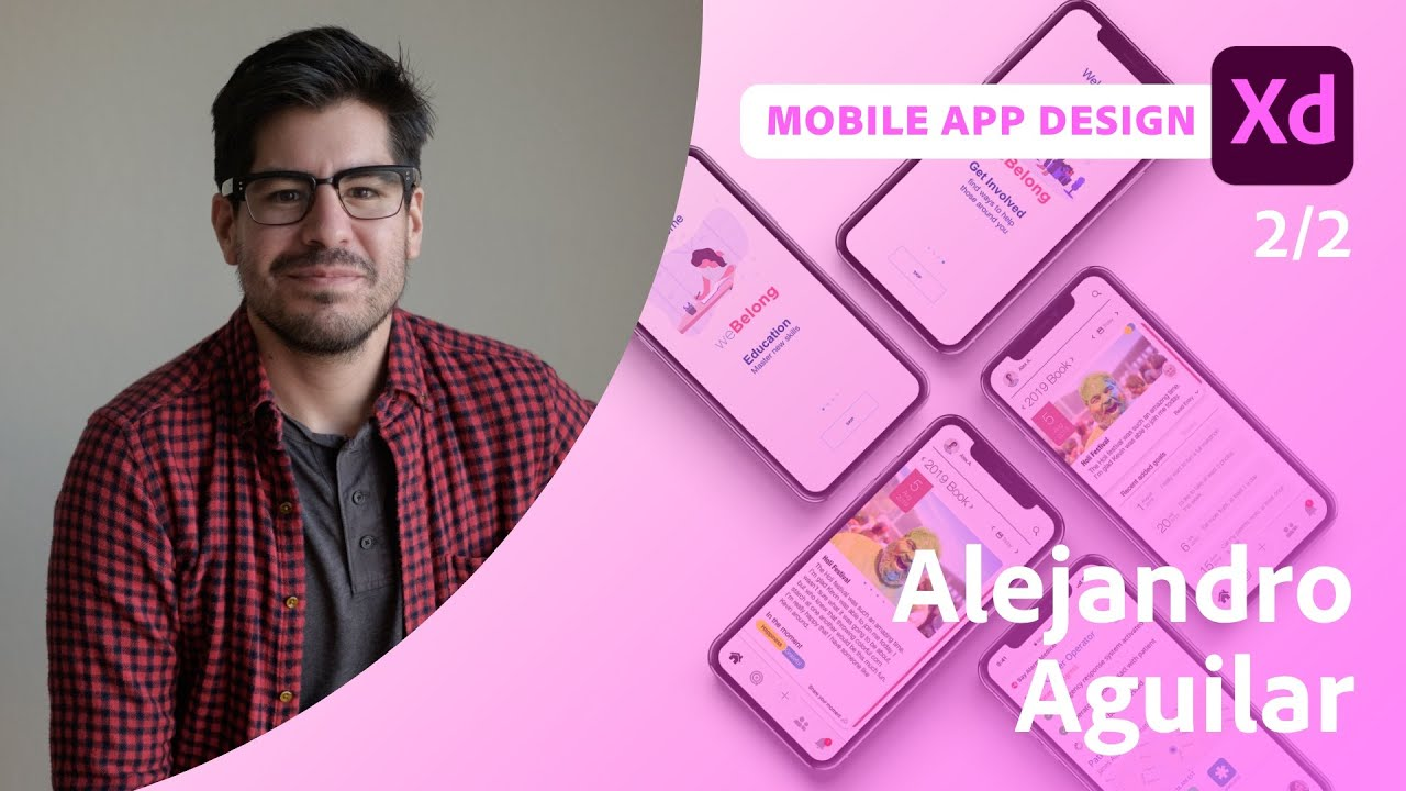 Creating a Movie App in XD with Alejandro Aguilar - 2 of 2