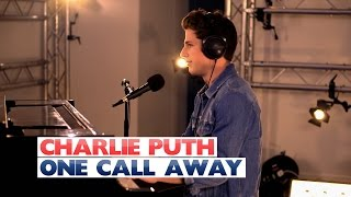 Video Charlie Puth - 'One Call Away' (Capital Session) download MP3, 3GP, MP4, WEBM, AVI, FLV Maret 2018