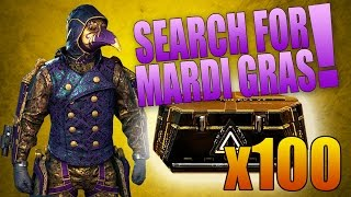 SEARCHING FOR MARDI GRAS! (100x Advanced Supply Drop Opening)