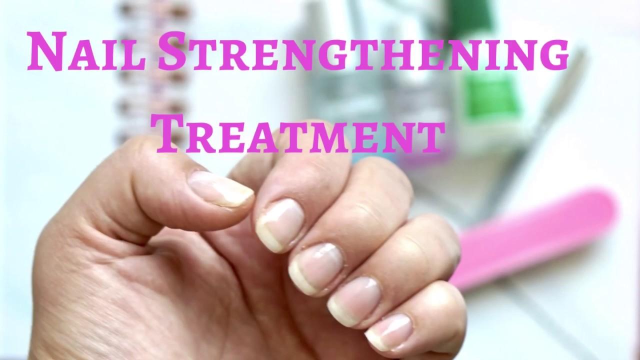 Nail Strengthening Treatment: NAILTIQUES FORMULA 2 VS OPI NAIL ENVY ...