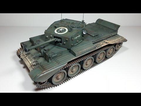 Tamiya 1/35 British Cromwell Mk. IV Build Review