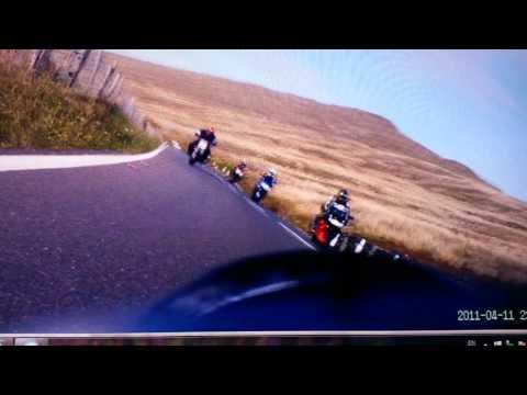TT 2015 Mountain Course Crash