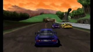 World Driver Championship (N64) Gameplay
