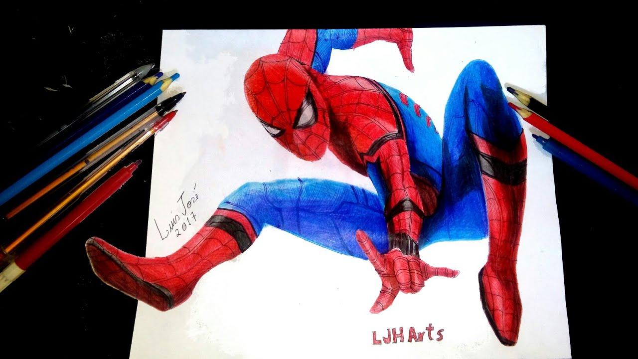 Desenho Do HomemAranha Desenhos Desenhos Fceis