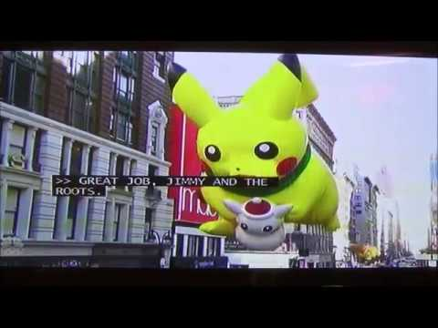 2017 Macy's Thanksgiving Day Parade- The Balloons and Santa Claus