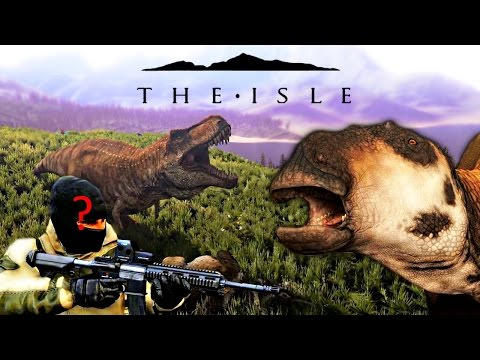 The Isle REALISM - WHERE IS THE SECOND HUMANS VIDEO? MAIA GETS AMBUSHED & REX BITE DAMAGE Gameplay